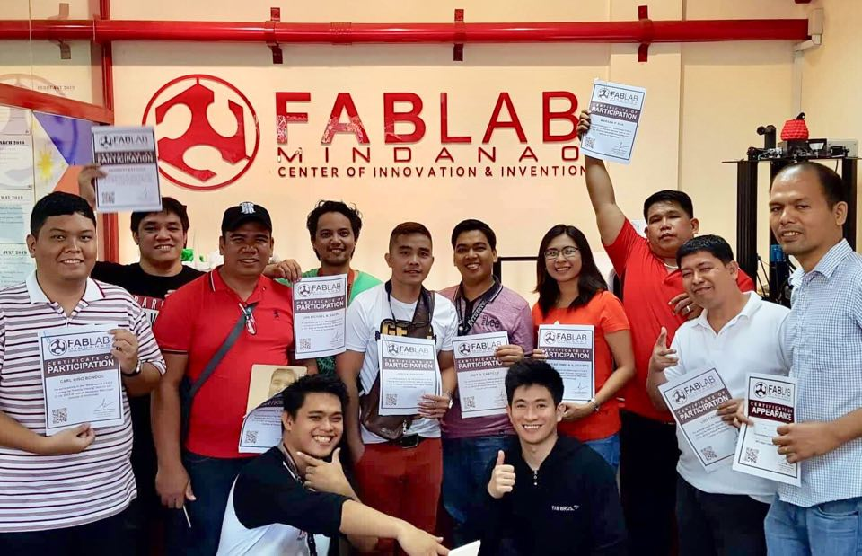 Danao fablab ups 'makerspaces' game, attends MSU-IIT training